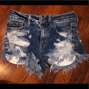 High waisted American eagle shorts